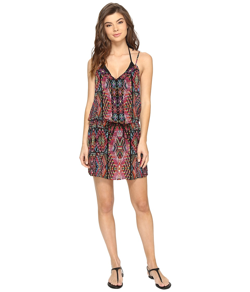 Nanette Lepore Mayan Mosaic Short Dress Cover-Up (Multi) Women