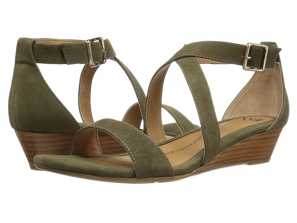 Sofft Innis (Olive Suede) Women
