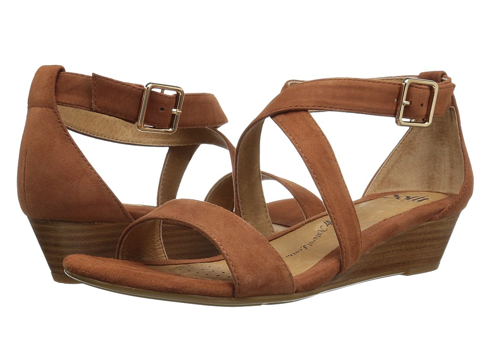Sofft - Innis (Tobacco Suede) Women's Wedge Shoes