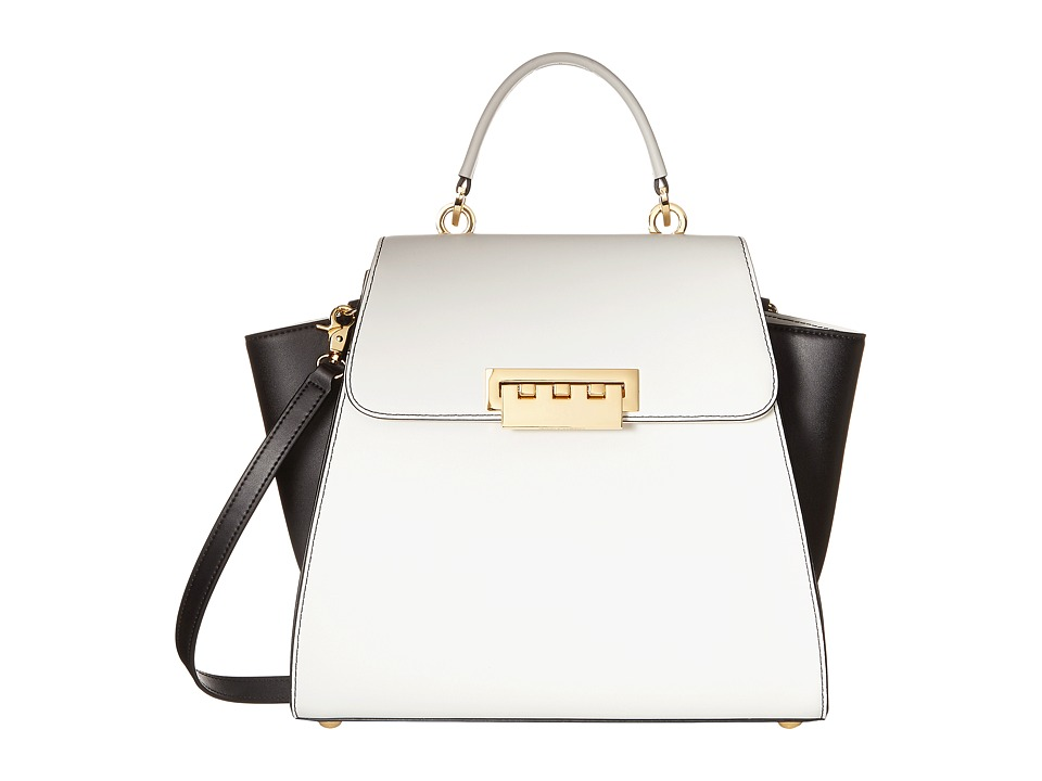 ZAC Zac Posen - Eartha Top-Handle (White) Top-handle Handbags