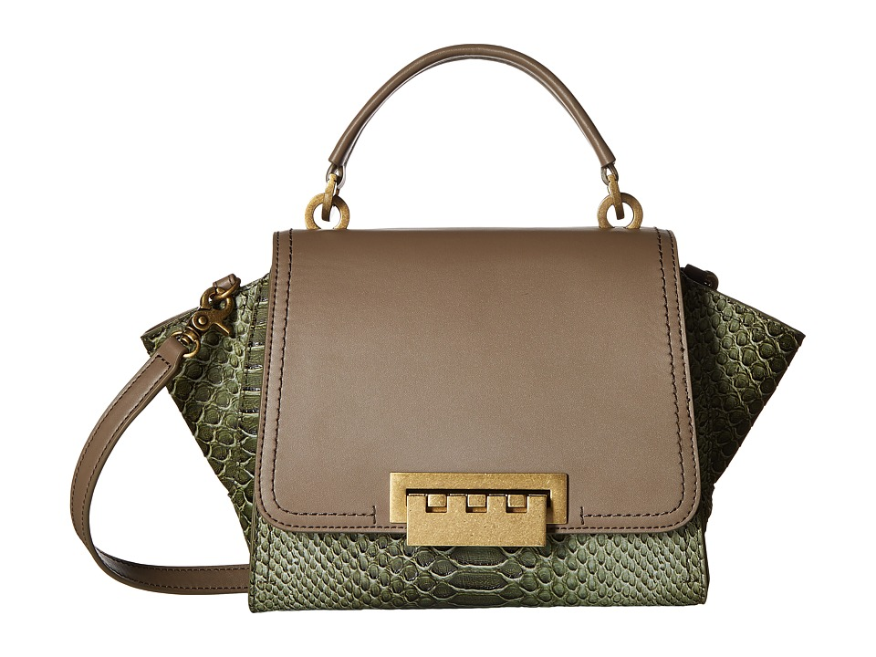 ZAC Zac Posen - Eartha Iconic Mini Top-Handle Crossbody (Mink) Top-handle Handbags