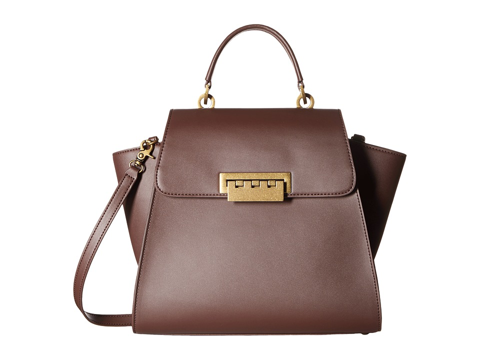 ZAC Zac Posen - Eartha Iconic Top-Handle Glazed (Ash/Light Dusty Purple) Top-handle Handbags
