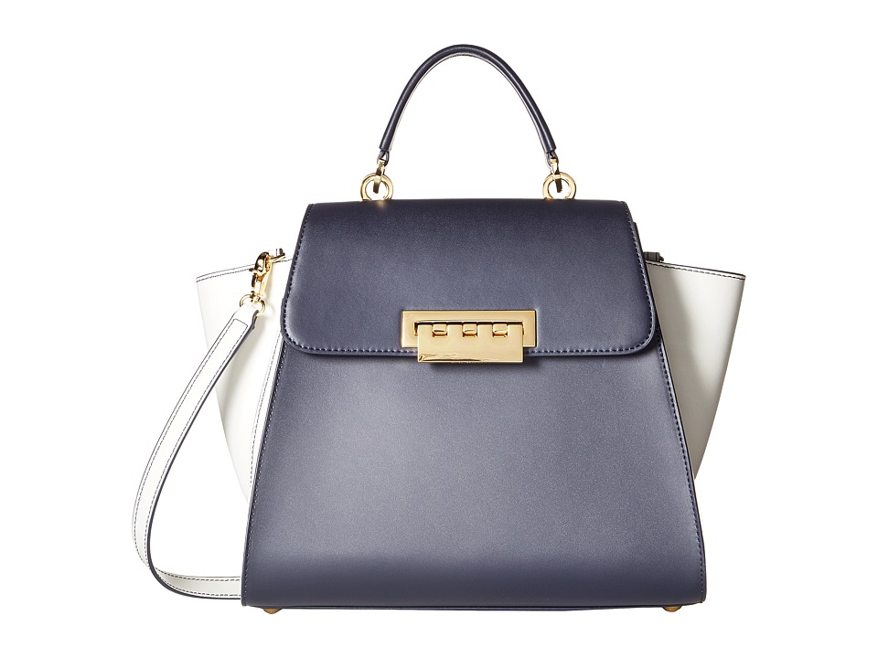 ZAC Zac Posen - Eartha Top-Handle (Navy) Top-handle Handbags