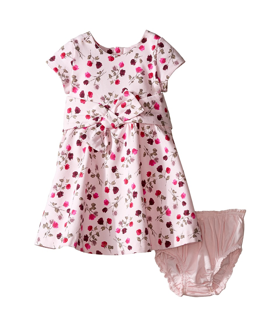 Kate Spade New York Kids - Fit Flare Dress Set (Infant) (Tossed Rose) Girl's Active Sets