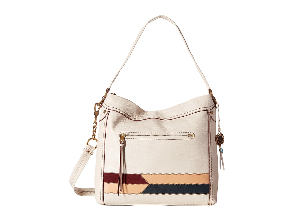 The Sak - Tahoe Hobo (Stone Racing Stripe) Hobo Handbags
