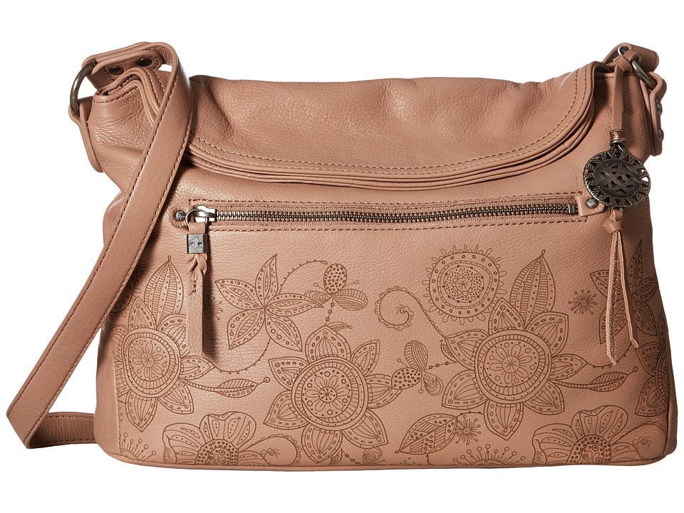 The Sak - Esperato Flap Hobo (Mocha Floral) Hobo Handbags