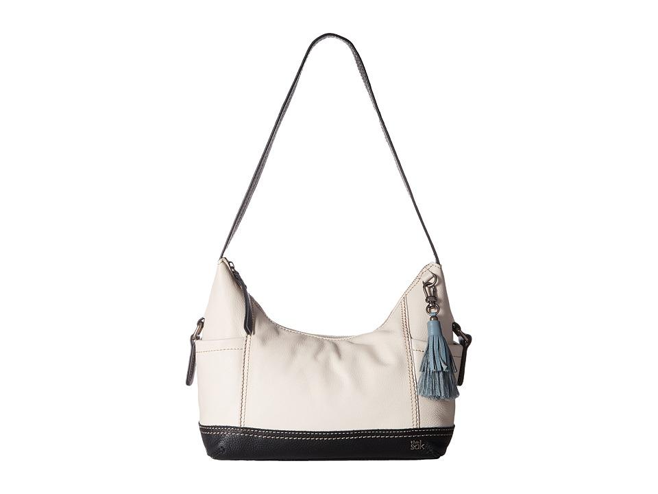 The Sak - Kendra Hobo (Black & White Block) Hobo Handbags