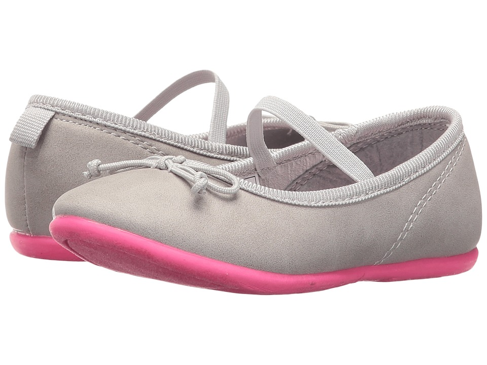 Carters - Ruby 4 (Toddler/Little Kid) (Grey/Pink) Girl's Shoes