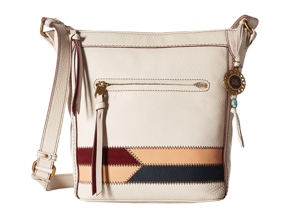 The Sak - Tahoe Crossbody (Stone Racing Stripe) Cross Body Handbags