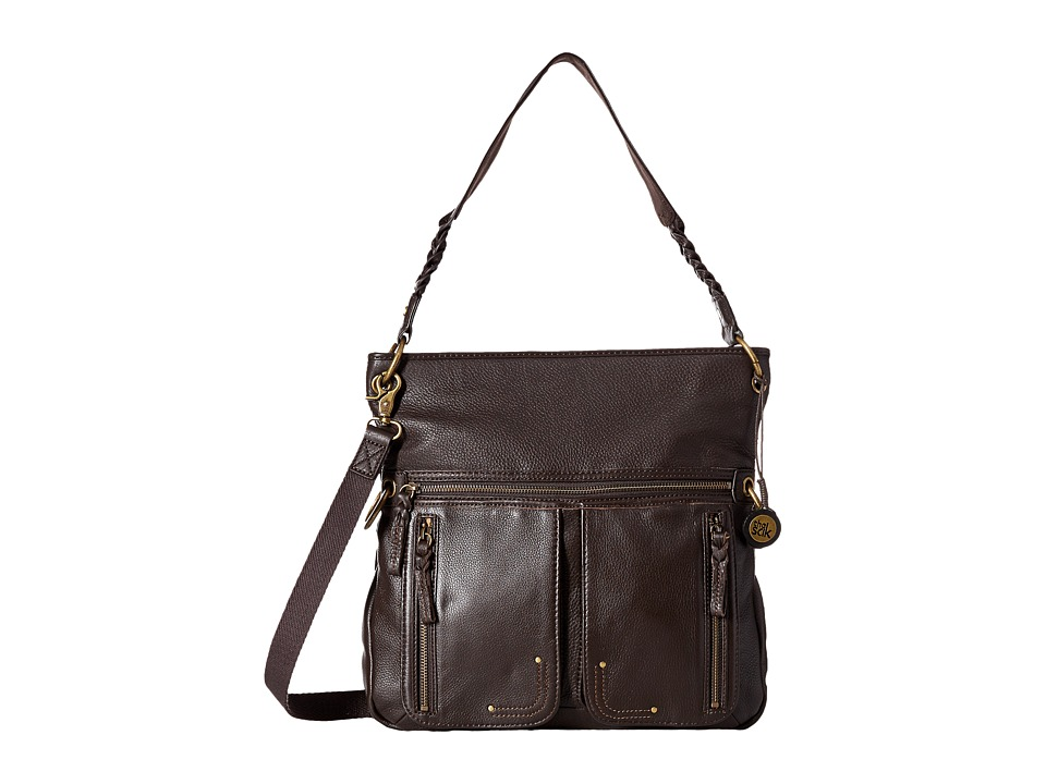 The Sak - Pax Large Crossbody (Cocoa) Cross Body Handbags