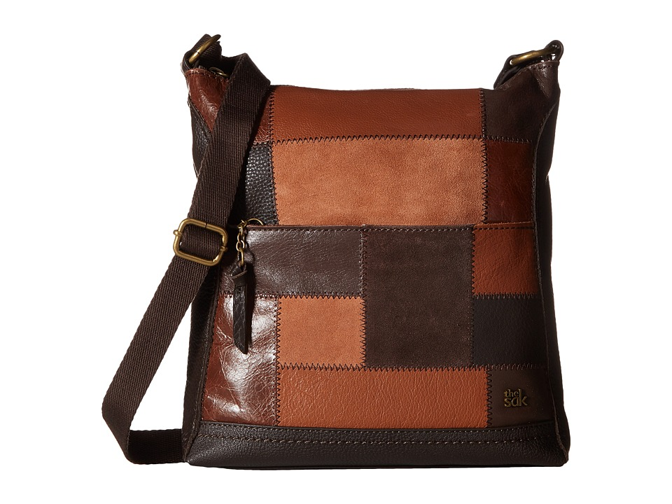The Sak - Lucia Crossbody (Brown Patch) Cross Body Handbags