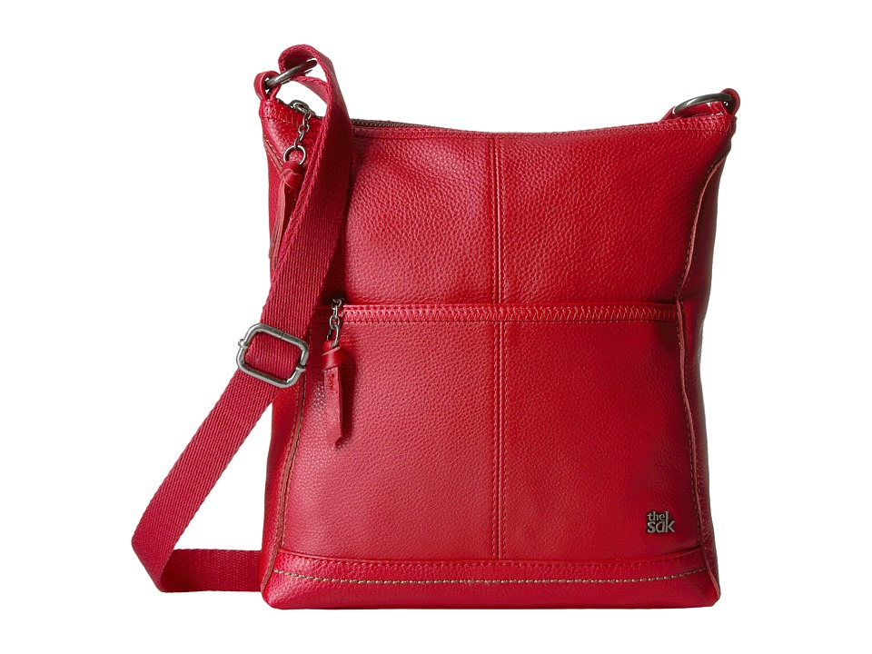 The Sak - Iris Crossbody (Ruby) Cross Body Handbags