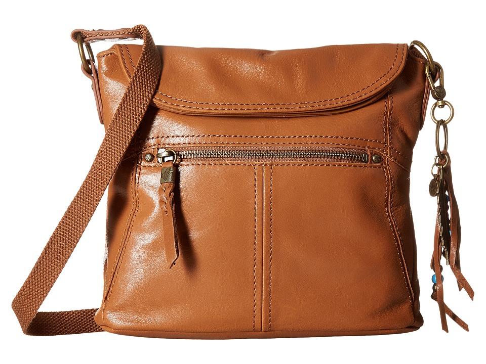 The Sak - Esperato Flap Crossbody (Tobacco) Cross Body Handbags