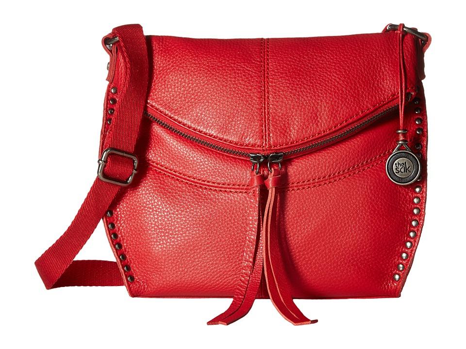 The Sak - Silverlake Crossbody (Ruby) Cross Body Handbags