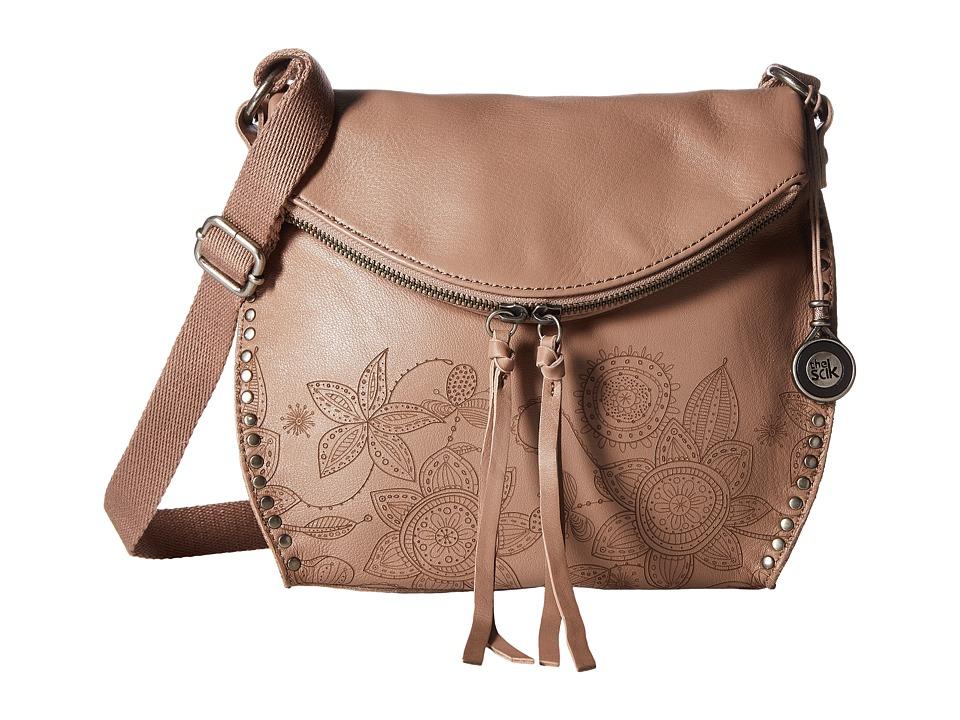 The Sak - Silverlake Crossbody (Mocha Floral) Cross Body Handbags