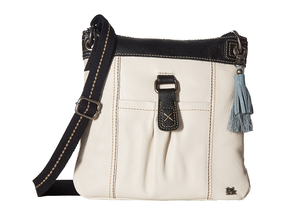 The Sak - Kendra Crossbody (Black/White Block) Cross Body Handbags