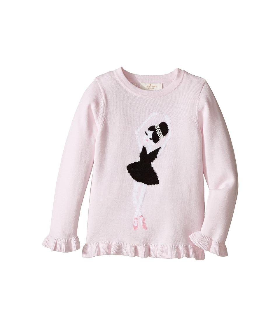 Kate Spade New York Kids - Ballerina Sweater (Toddler/Little Kids) (Satin Slipper) Girl's Sweater