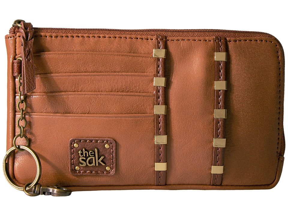 The Sak - Iris Large Card Wallet (Tobacco Staples) Wallet Handbags