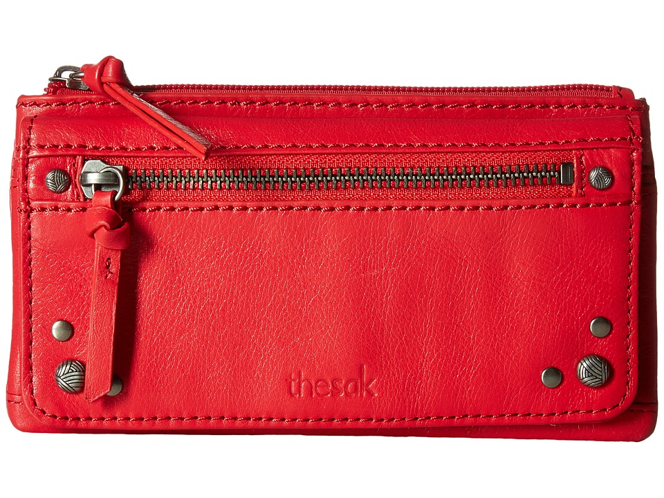 The Sak - Sanibel Flap Wallet (Ruby) Wallet Handbags