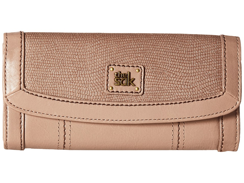 The Sak - Iris Flap Wallet (Mocha Sparkle) Wallet Handbags