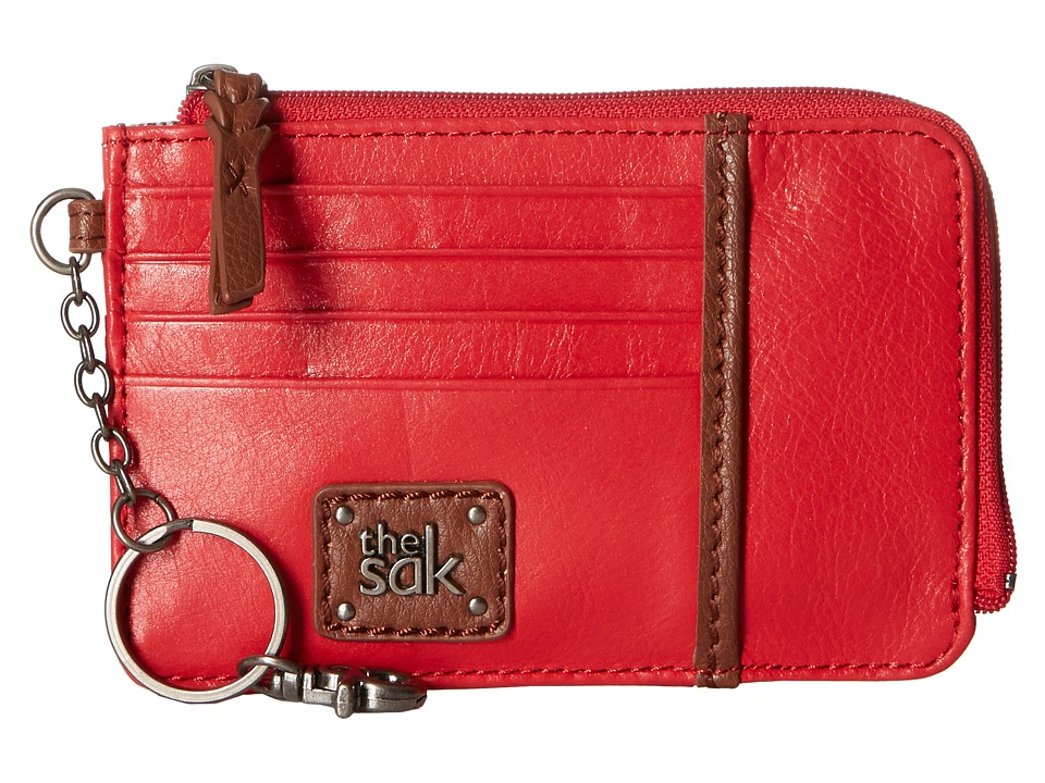 The Sak - Iris Card Wallet (Ruby) Wallet Handbags