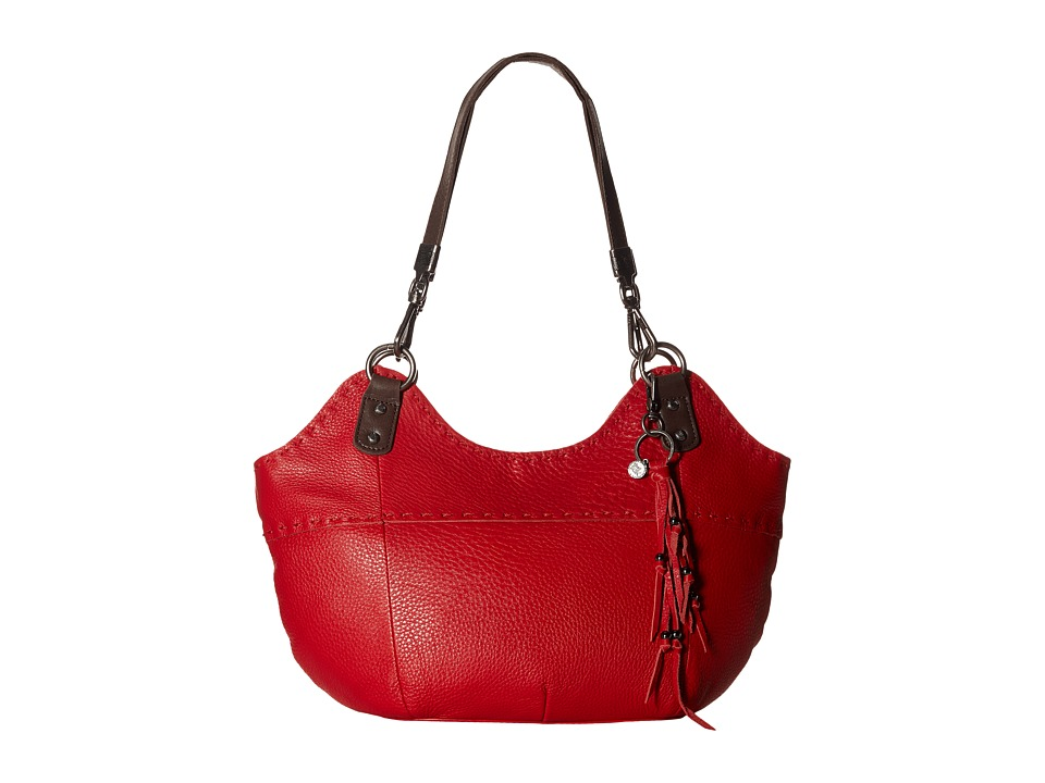 The Sak - Indio Satchel (Ruby) Shoulder Handbags