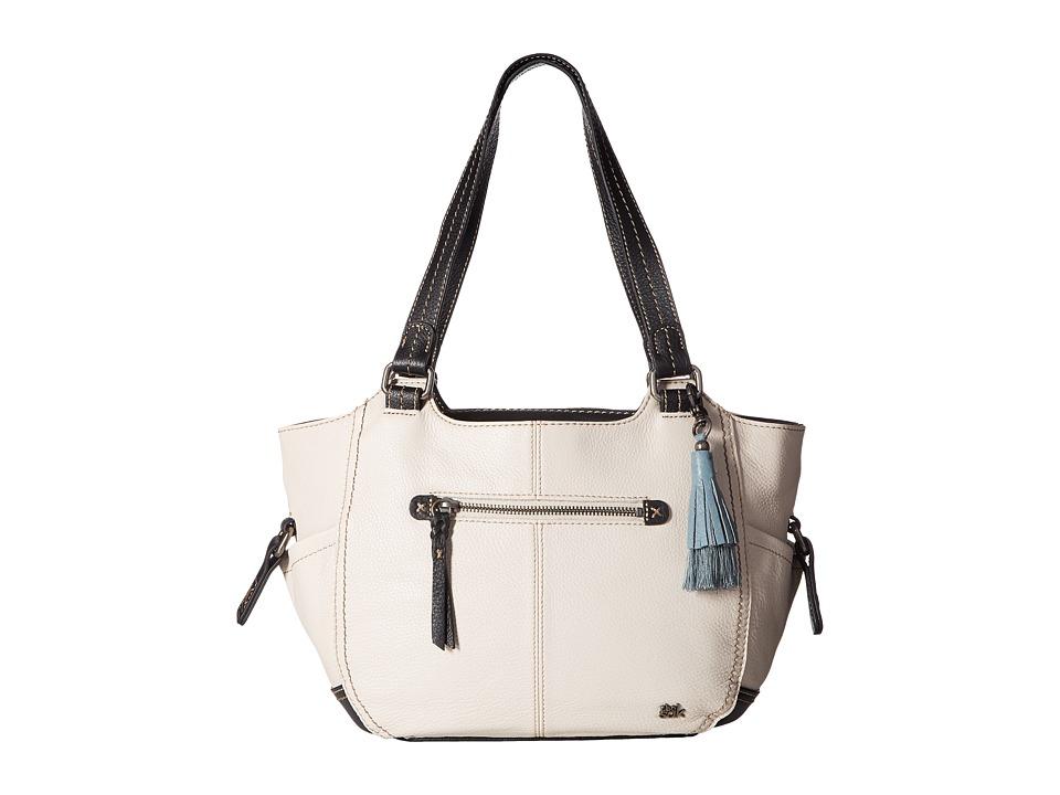 The Sak - Kendra Satchel (Black/White Block) Shoulder Handbags