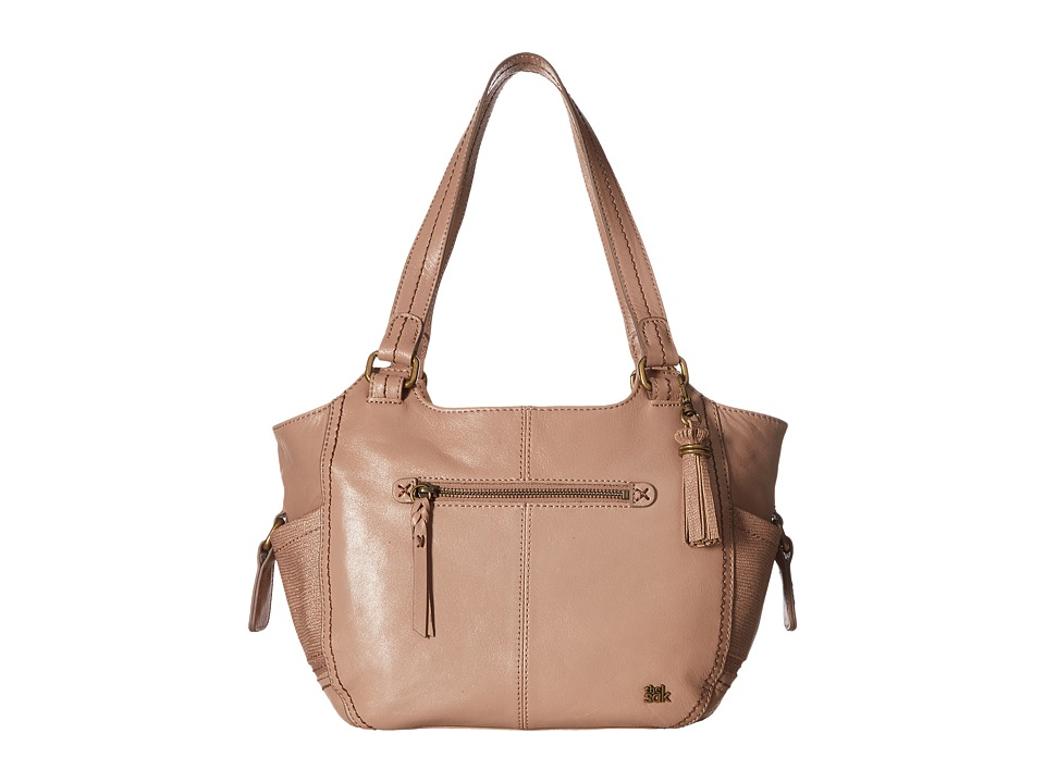 The Sak - Kendra Satchel (Mocha Sparkle) Shoulder Handbags
