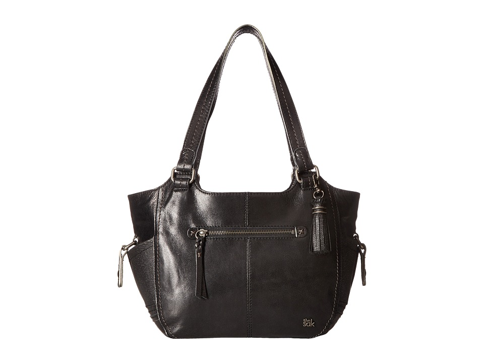 The Sak - Kendra Satchel (Black Sparkle) Shoulder Handbags