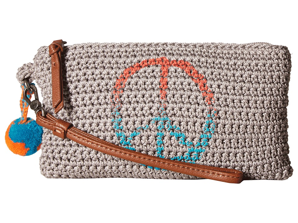 The Sak - Sanibel Crochet Phone Charging Wristlet (Cloud Peace) Wristlet Handbags