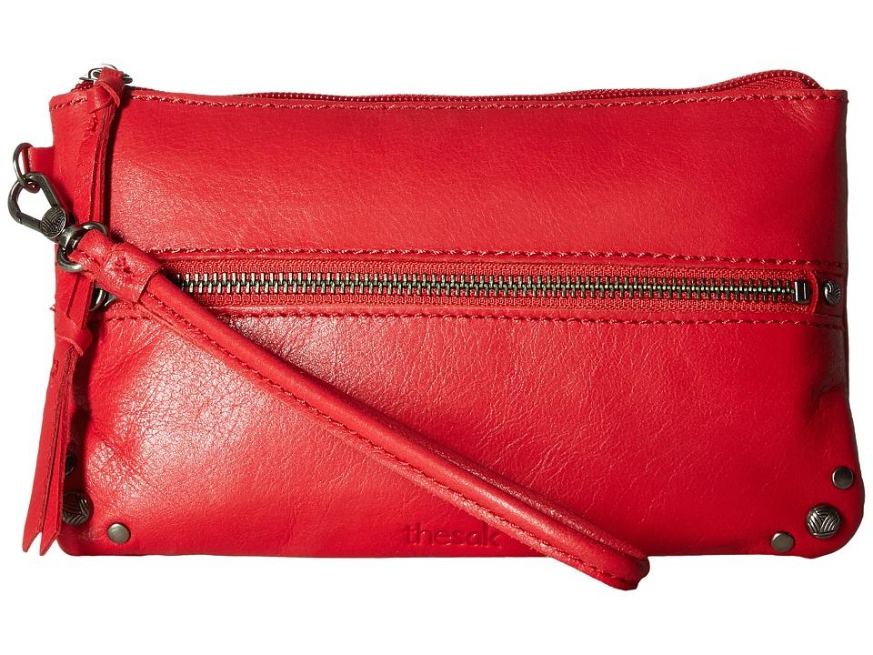The Sak - Sanibel Phone Charging Wristlet (Ruby) Wristlet Handbags