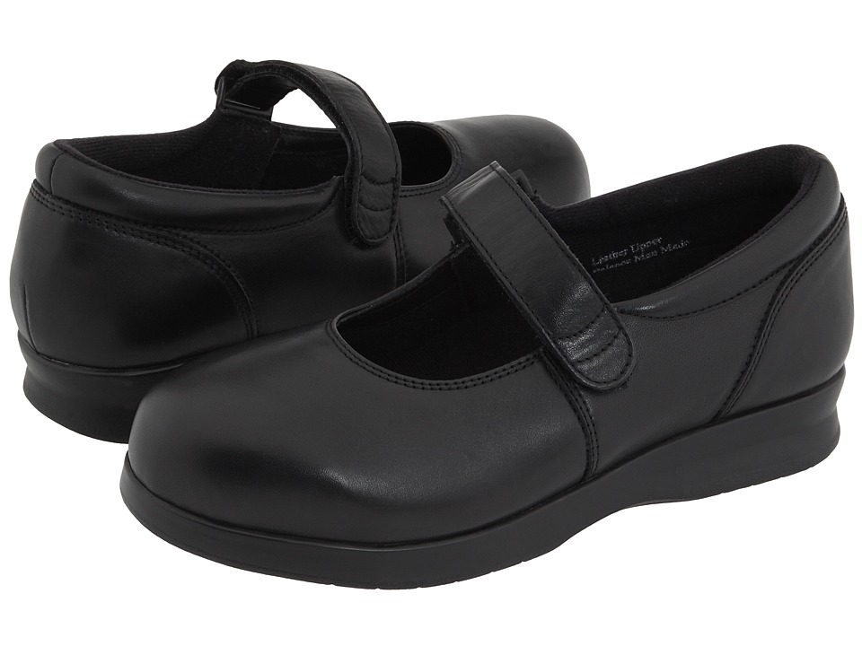 Drew - Bloom II (Black Calf) Women's Maryjane Shoes