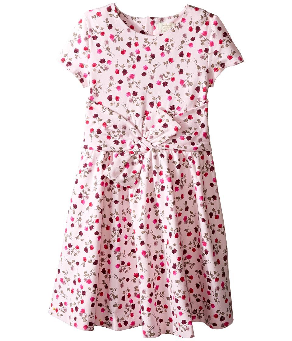 Kate Spade New York Kids - Fit Flare Dress (Little Kids/Big Kids) (Tossed Rose) Girl's Dress
