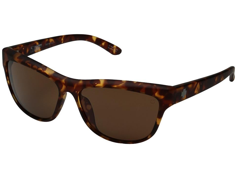 Spy Optic - Lynx (Soft Matte Camo Tortoise/Happy Bronze) Fashion Sunglasses