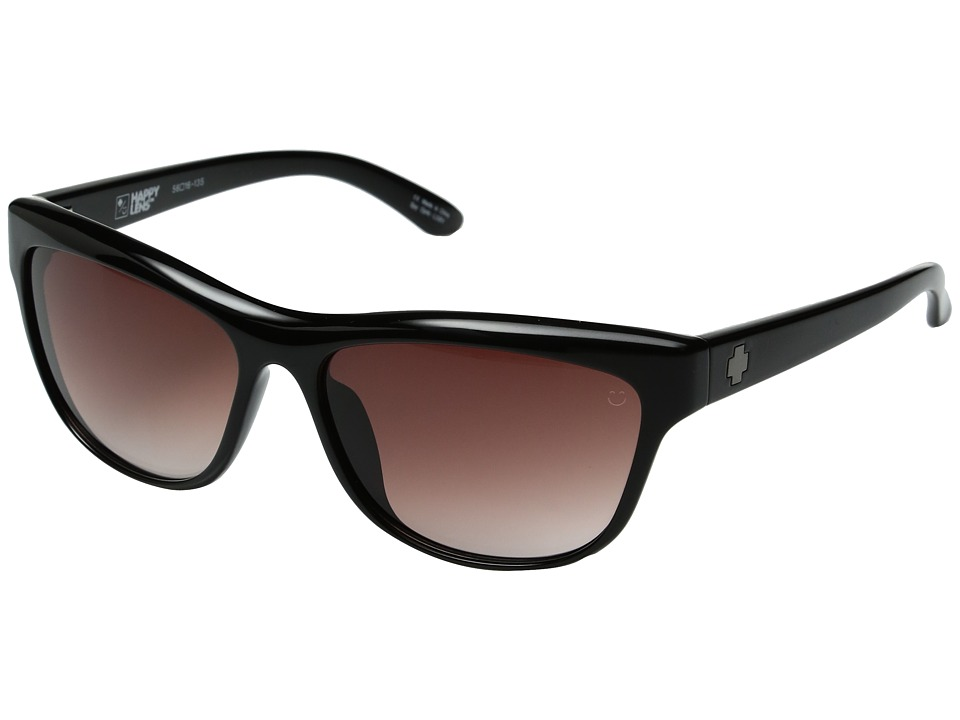 Spy Optic - Lynx (Black/Happy Merlot Fade) Fashion Sunglasses
