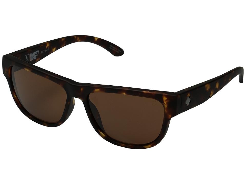 Spy Optic - Hendrix (Soft Matte Camo Tortoise/Happy Bronze) Fashion Sunglasses