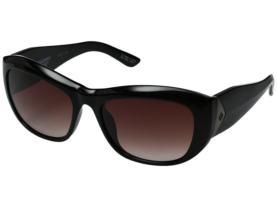 Spy Optic - Belle (Black/Happy Merlot Fade) Fashion Sunglasses