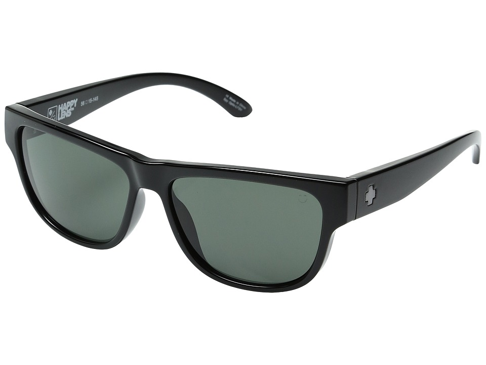 Spy Optic - Hendrix (Black/Happy Gray Green) Fashion Sunglasses