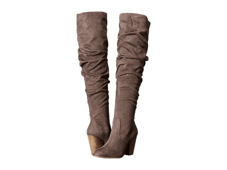CARLOS by Carlos Santana - Hazey (Dark Stone Microfiber) Women's Boots