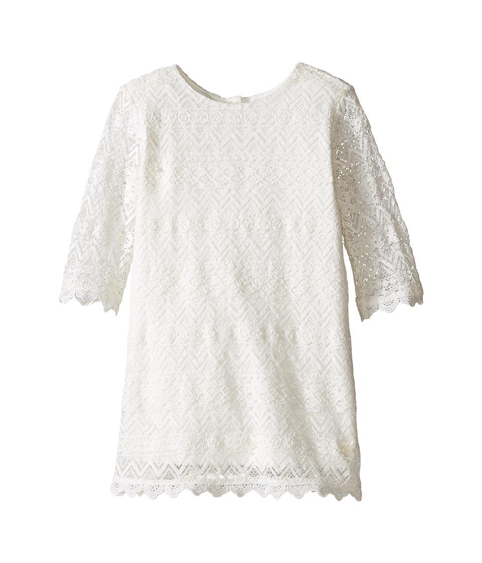 Kardashian Kids - Lace Dress (Infant) (Ivory) Girl's Dress