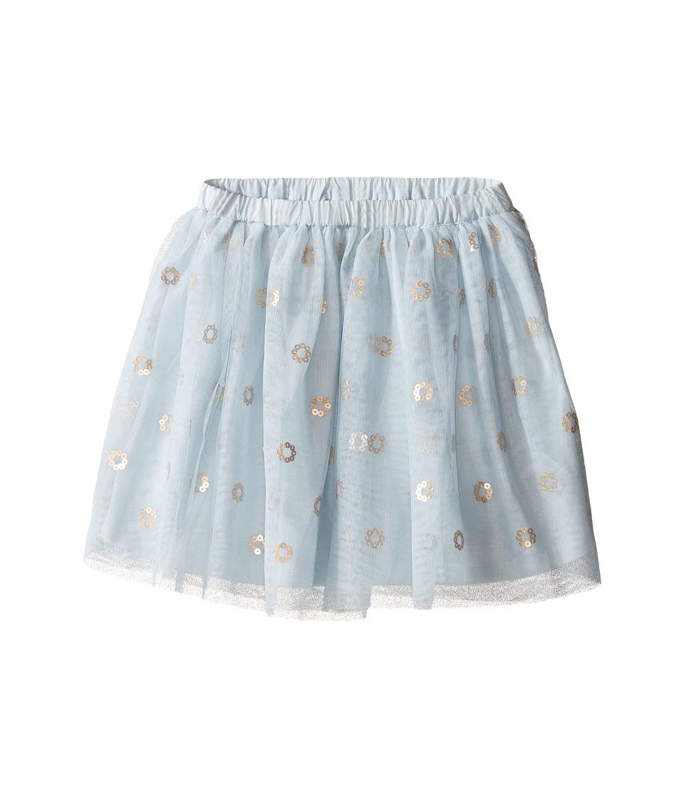 Kardashian Kids - Mesh Sequin Skirt (Infant) (Blue) Girl's Skirt