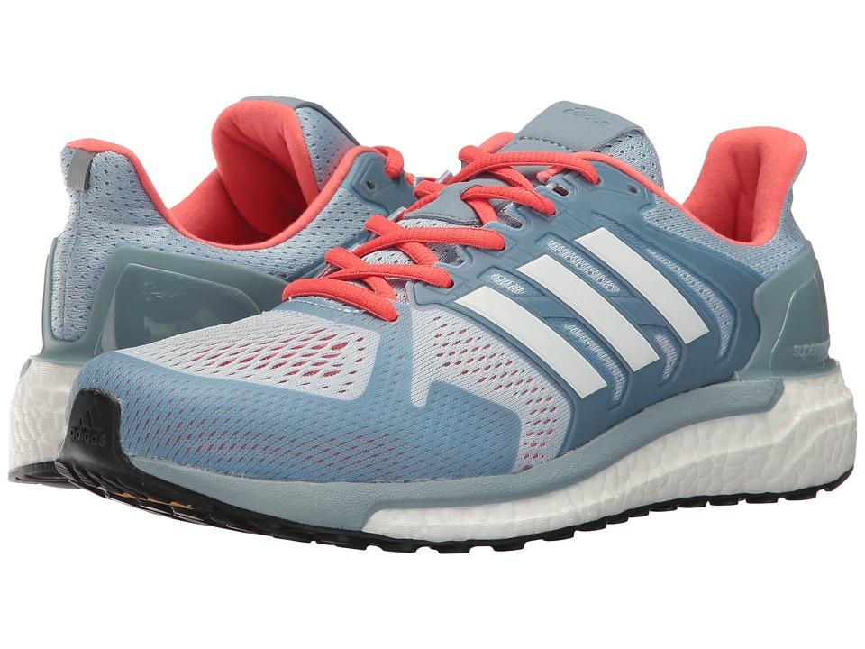 adidas Supernova Stability (Easy Blue/White/Easy Coral) Women