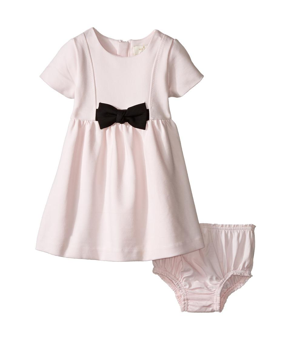 Kate Spade New York Kids - Ponte Bow Dress (Infant) (Satin Slipper) Girl's Dress
