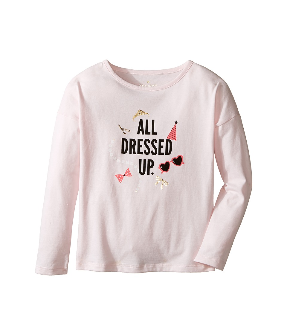 Kate Spade New York Kids - All Dressed Up Tee (Toddler/Little Kids) (Satin Slipper) Girl's T Shirt