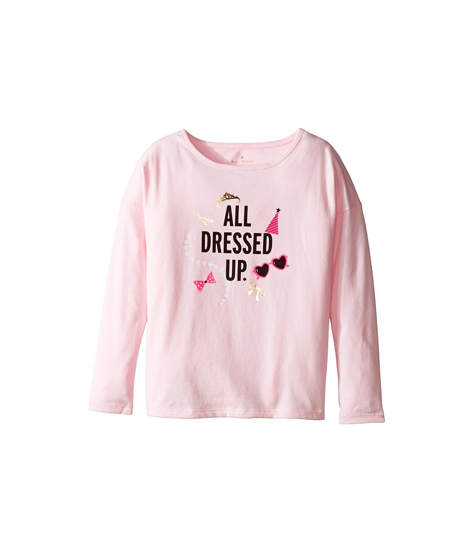 Kate Spade New York Kids - All Dressed Up Tee (Little Kids/Big Kids) (Satin Slipper) Girl's T Shirt