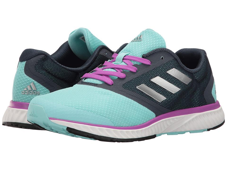 adidas Running - Mana Racer (Clear Aqua/Silver/Shock Purple) Women's Running Shoes