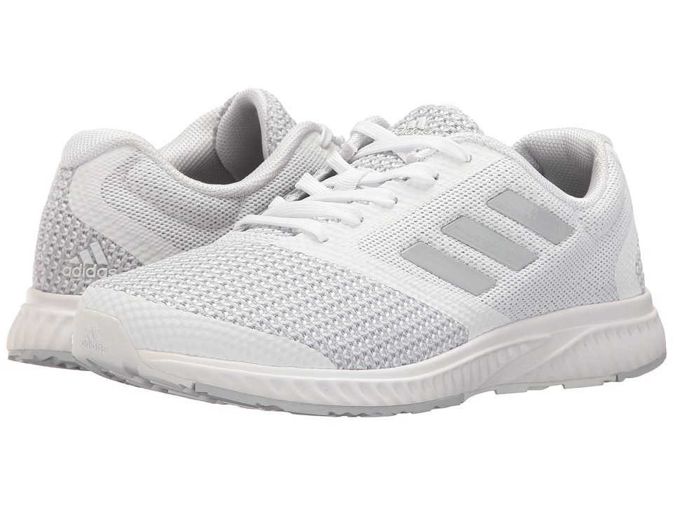adidas - Mana Racer (Footwear White/Clear Grey/Footwear White) Women's Running Shoes