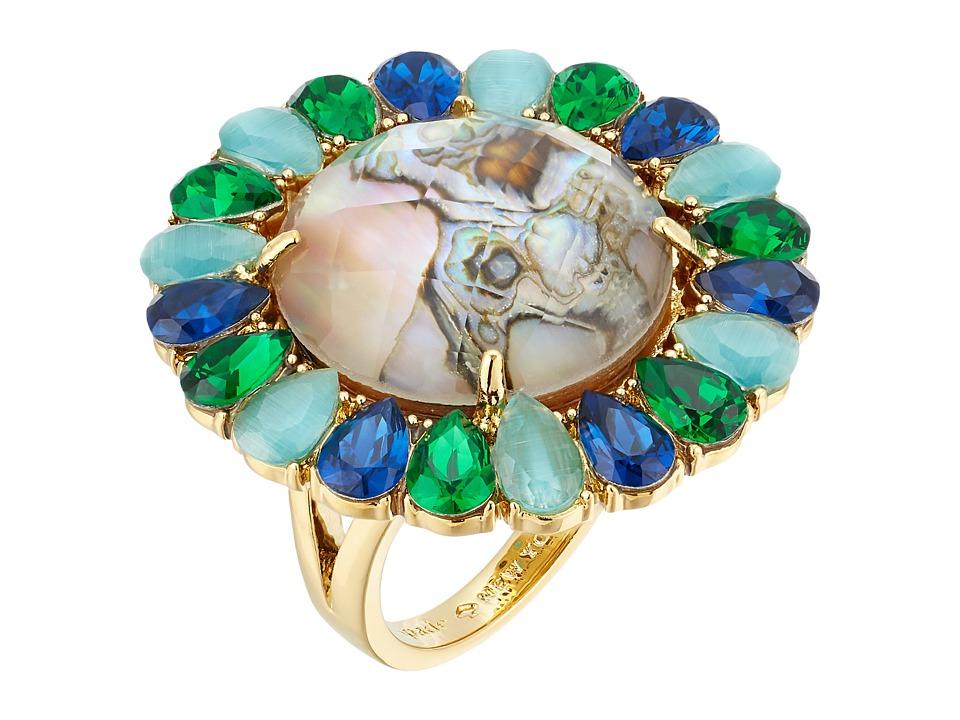 Kate Spade New York - Peacock Way Ring (Multi) Ring
