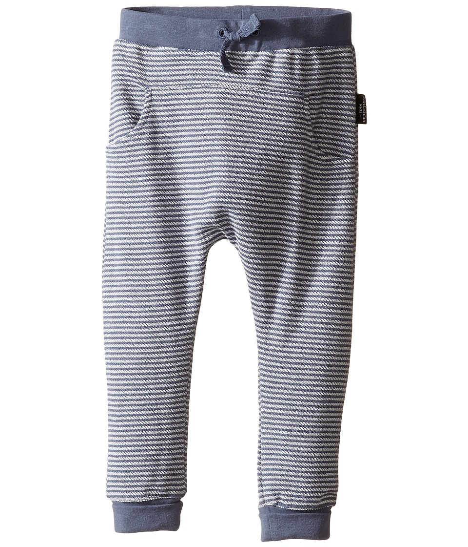 Kardashian Kids - Harem Stripe Track Pants (Infant) (Blue/Grey) Boy's Casual Pants