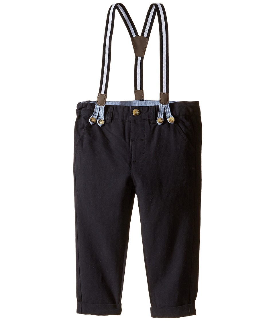 Kardashian Kids - Pants with Suspenders (Infant) (Black) Boy's Casual Pants